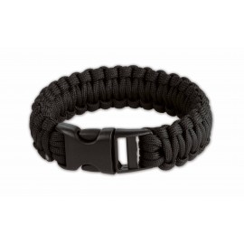 Survival Armband black 8 inch