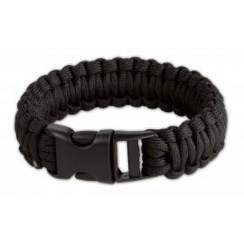 Survival Armband black 9 inch