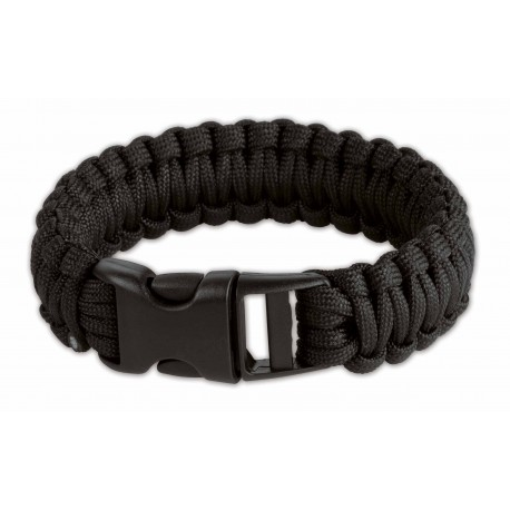 Survival Armband black 9 inch