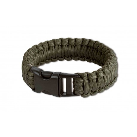 Survival Armband olive 8 inch