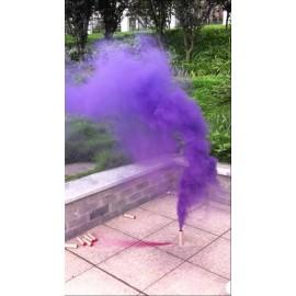 Rauchfackel lila