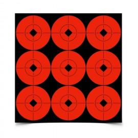 90 Target Spots 5cm