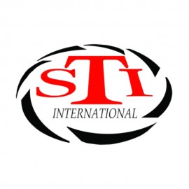STi Logo Sticker groß